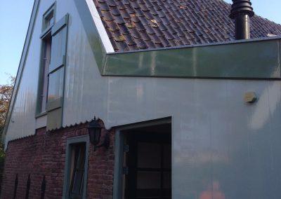 Buitenwerk huis Warmenhuizen