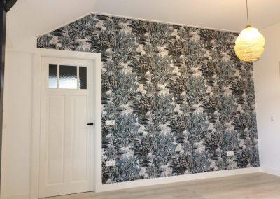 Behangen en schilderen slaapkamer